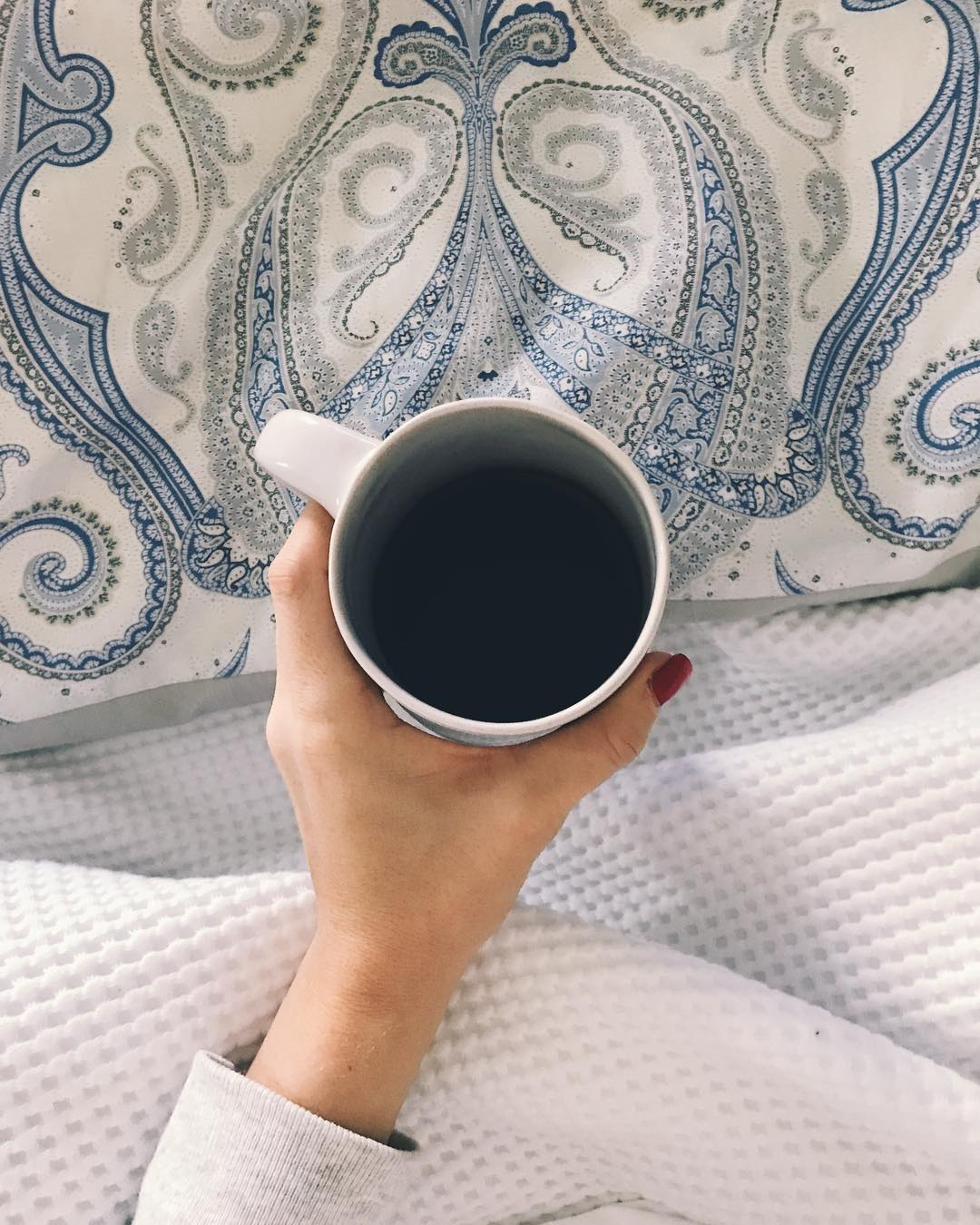 Coffee is better in bed