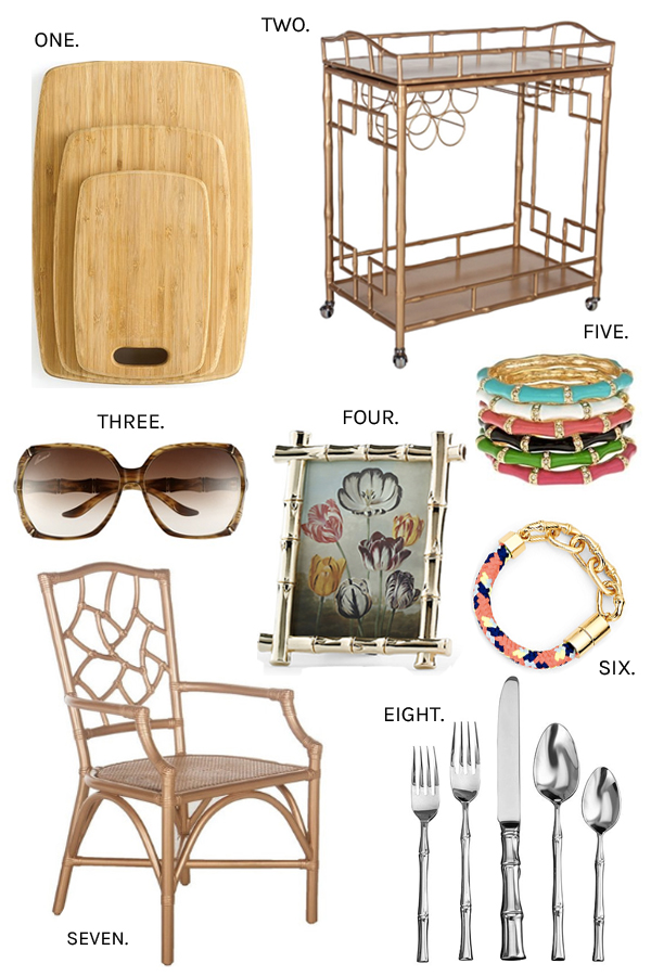 Bamboo fashion and home decor accessories for Bamboo home decorations