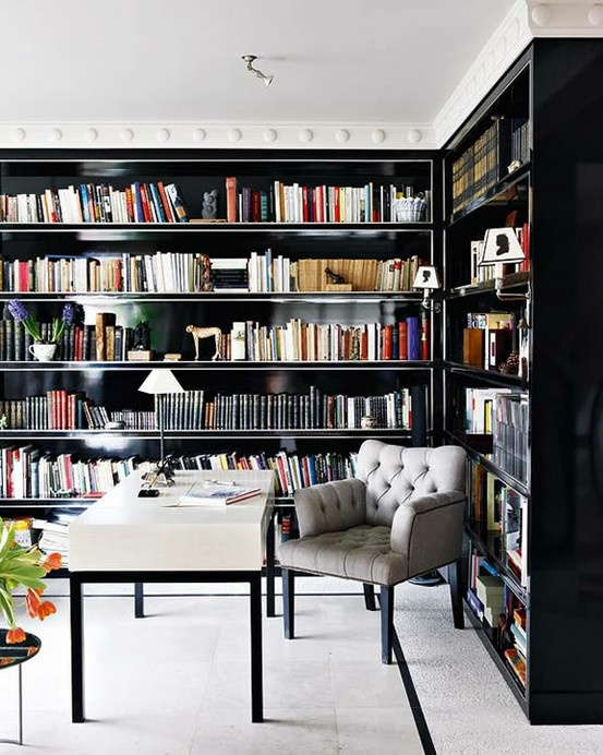 How To Decorate With Books_1