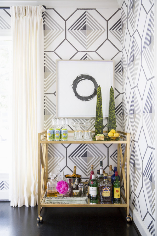 Brittany Ambridge Bar Cart