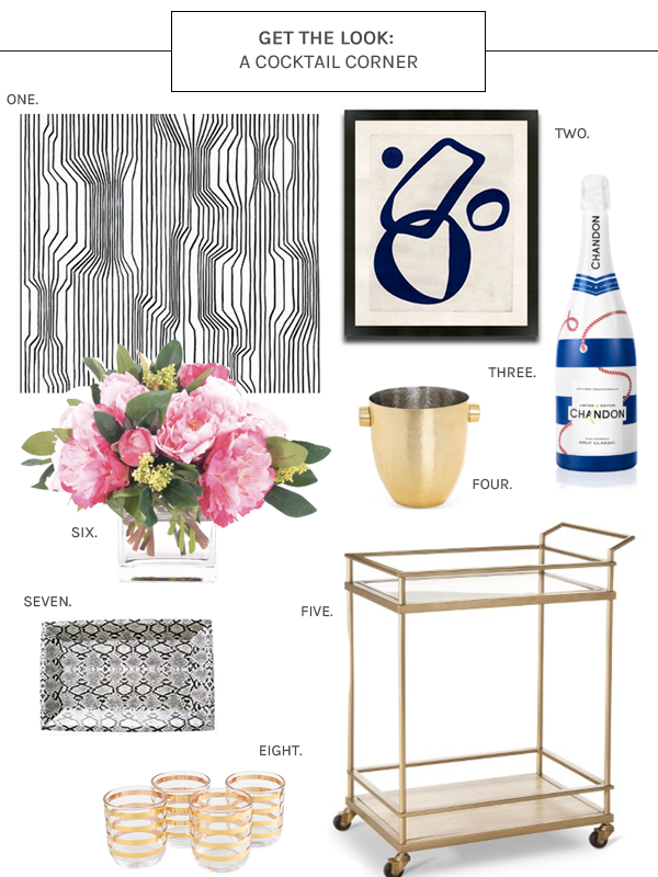 Get The Look- Cocktail Corner
