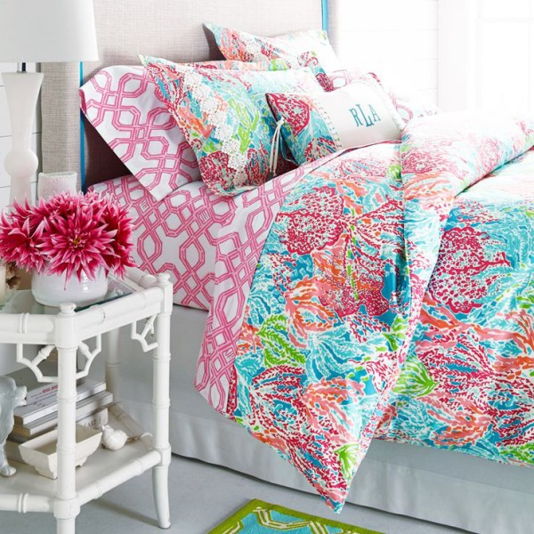 lily pulitzer for garnet hill preppy bedroom lauren nelson design