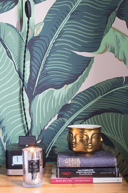 The Martinique Banana Leaf And Brazilliance Wallpaper