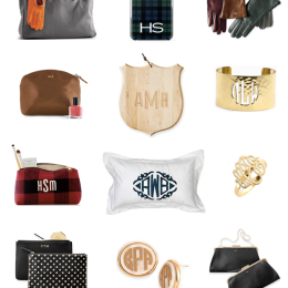 The Best Monogrammed Gifts To Give