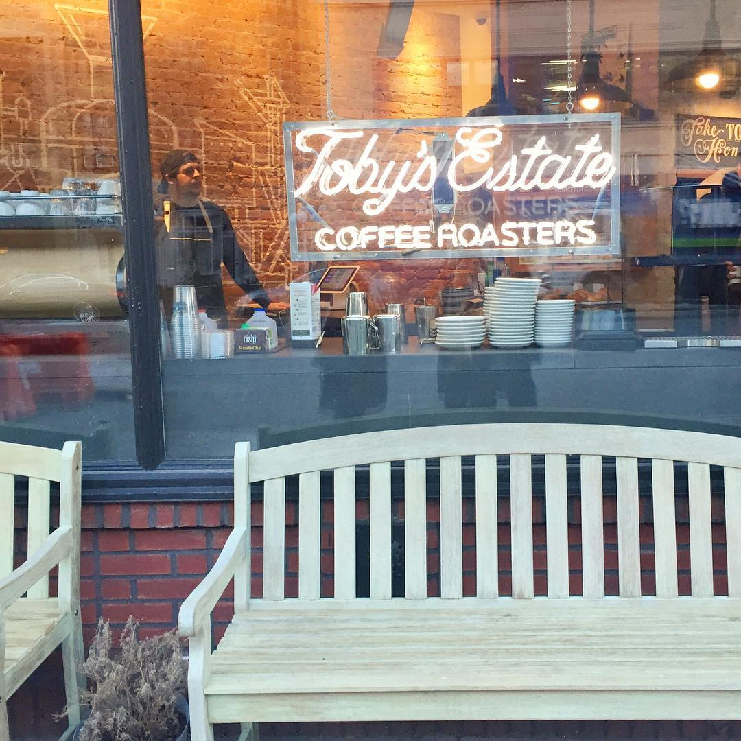 Mornings are better with tobysestatecoffee tuesday goodmorning coffee nom westvillage