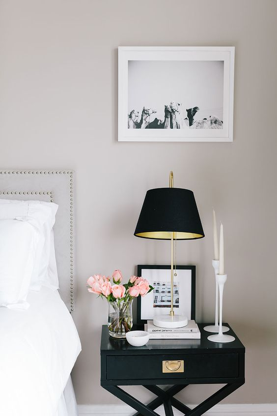 Bedside+Table+Interiors+Bedrooms