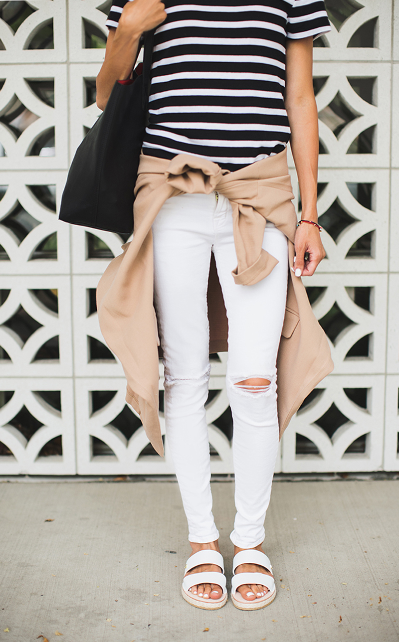 Navy-And-White-Stripe-Top