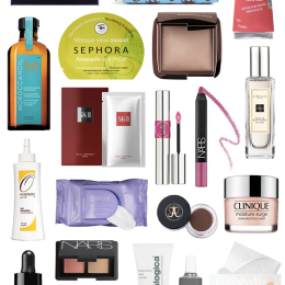 My Top 20 Travel Beauty Essentials