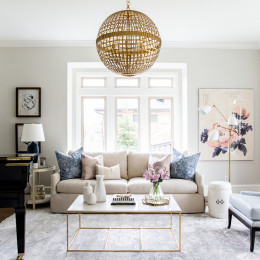 Get The Look: A Chic and Sophisticated Living Room