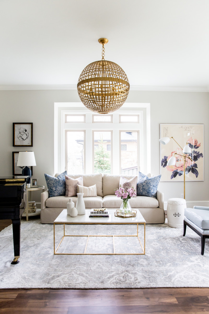 Navy,+Blush+and+Gold+Living+Room+by+Studio+McGee