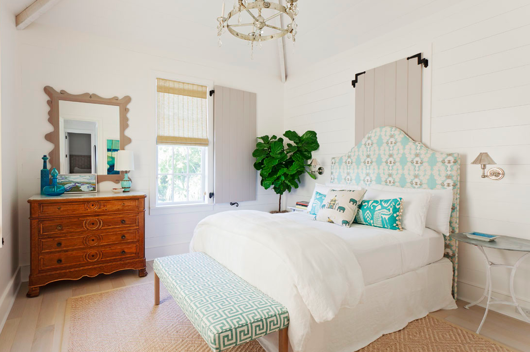 Turquoise-Bedroom-Jenny-Keenan-Interior-Design-Greek-Key-Bench