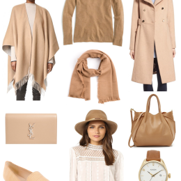 9 Camel Pieces That Will Perfectly Compliment Your Fall Wardrobe