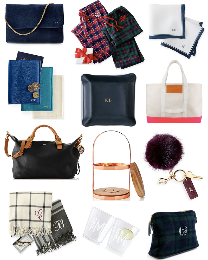 Introducing My 2016 Gift Guide Series 13 Monogrammed