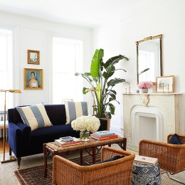 Amy Stone's Preppy & Polished Apartment