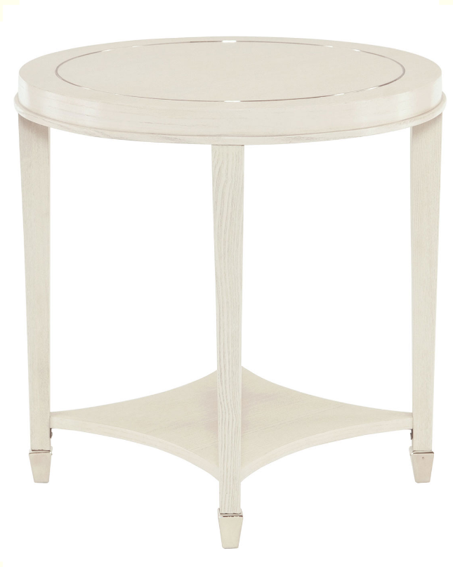 Horchow-End-Table-White