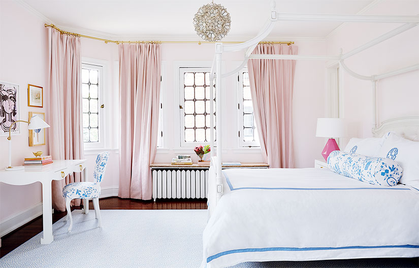 Pink-Curtains-Cute-Kids-Room