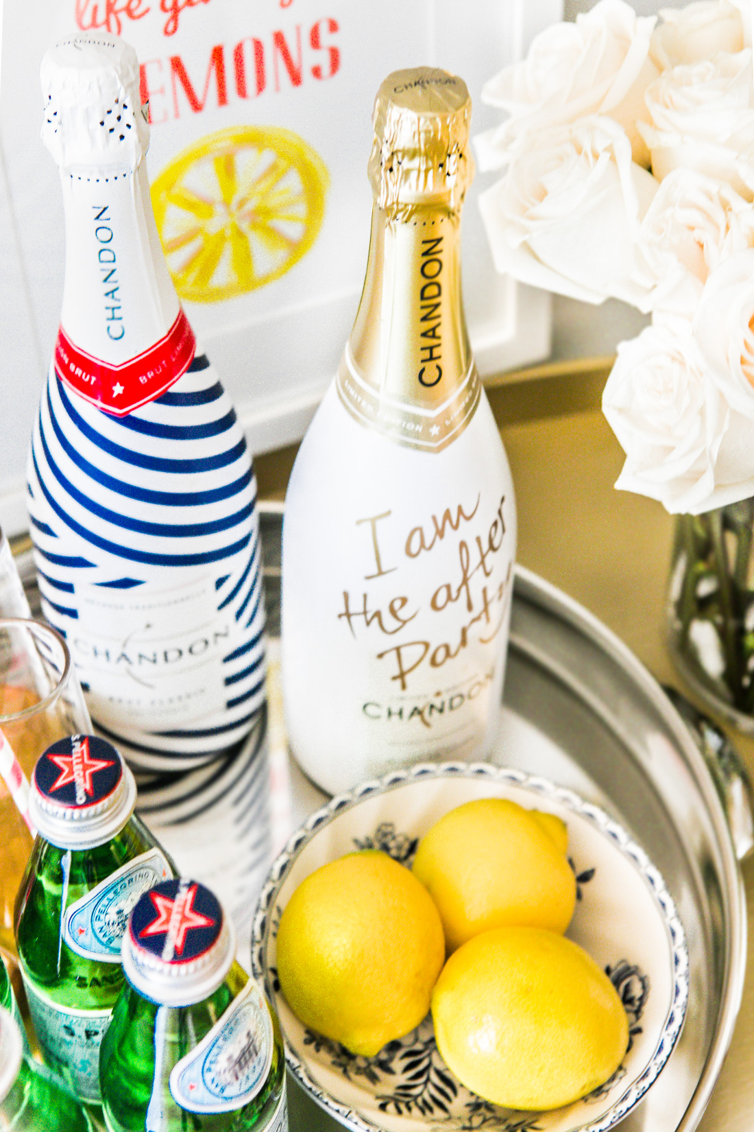 Chandon-Champagne-Lemons-Bar-Cart-Styling