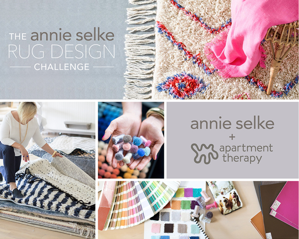 The annie selke apartment therapy rug design competition for Apartment design competition