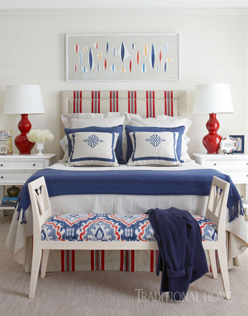 Blue-and-Red-Bedroom