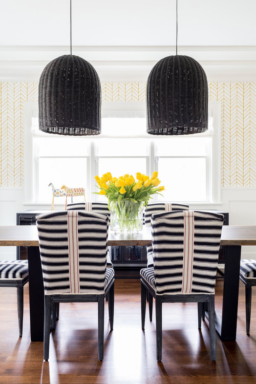 Chango-And-Co-Custom-Striped-Chairs-Modern-Preppy-Dinning-Room