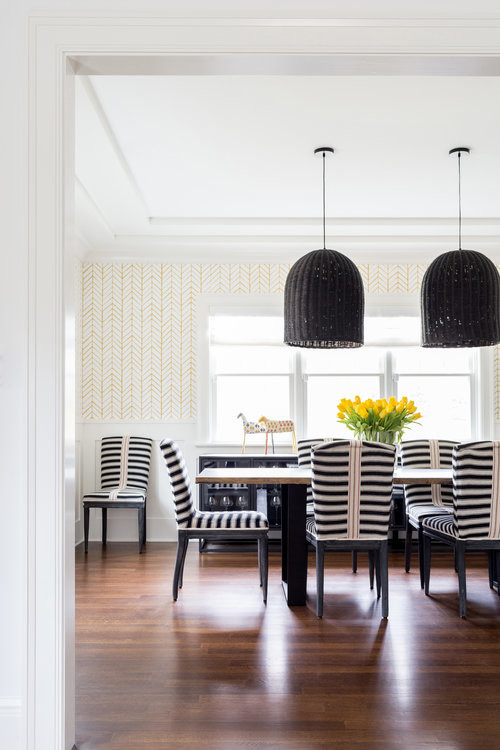 Chango-And-Co-Modern-Dinning-Room-Striped-Dinning-Chairs
