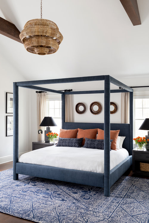 Chango-And-Co-Serena-And-Lily-Blue-And-White-Rug-Blue-Upholstured-Bed