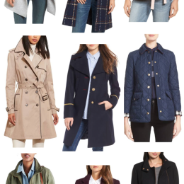 9 Transitional Fall Coats