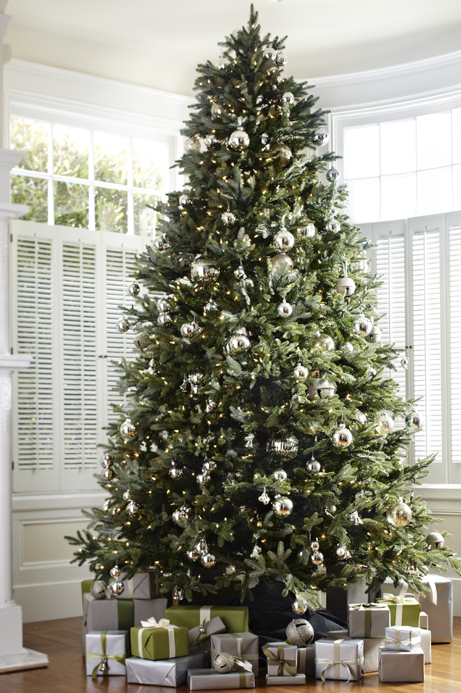 Faux-Christmas-Tree-Silver