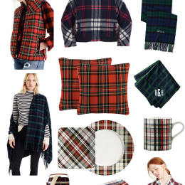 2017 Gift Guide Series – The Top Holiday Plaid Gifts To Give