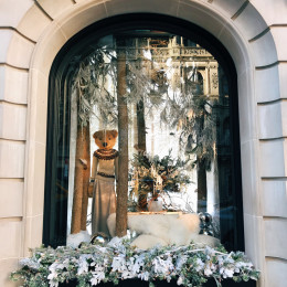 The Ralph Lauren Mansion | Holiday Windows & Decor