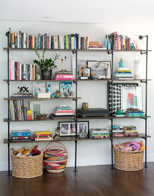How To Decorate With Books 6
