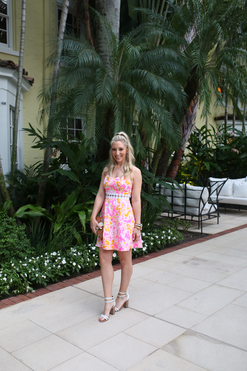 Lilly Pulitzer Dress The Brazillian Court Hotel West Palm Beach